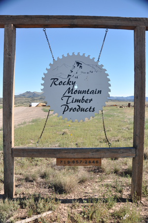 Rocky Mountain Timber Products, Del Norte, Colorado