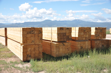 Finished Wood Products Ready for Delivery, Rocky Mountain Timber Products, Del Norte, Colorado