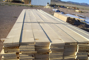 Surfaced and Rough Cut Timber, Rocky Mountain Timber Products